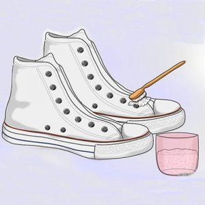 Hướng dẫn cách khử mùi hôi giày bằng cồn -2